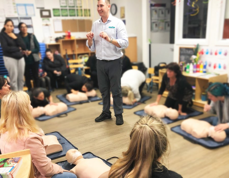 Certo First Aid & CPR Training